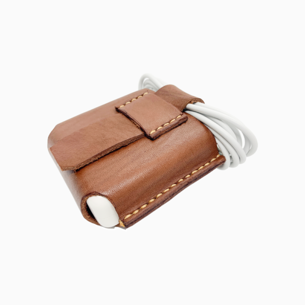 Кожаный чехол для адаптера питания MacBook и MacBook Pro